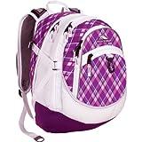 High Sierra Fat Boy Backpack, Purple Argyle /White/ Amethyst