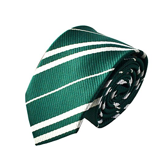 MISS FANTASY Cosplay Tie Birthday Party Costume Accessory Necktie for Halloween Party (Green) - Diy Halloween Costumes Green Dress