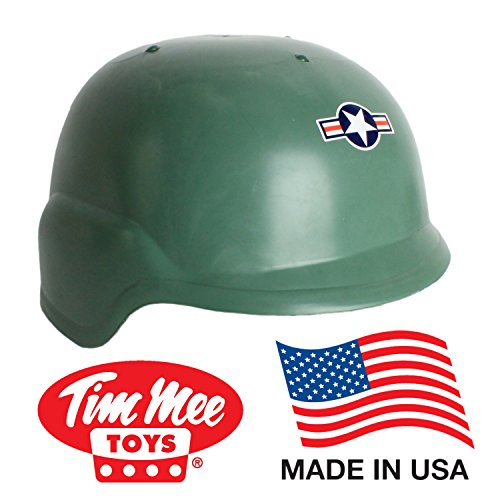 [TimMee ARMY HELMET: Green Kid Size Adjustable Headband - Made in USA] (Child Army Soldier Costumes)