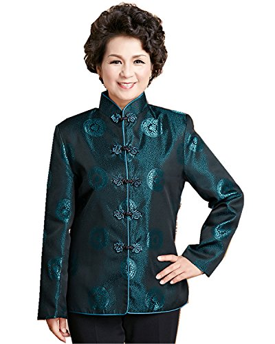 Shanghai Story Long Sleeve Women's Top Chinese Traditional Clothing 10 09
