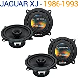 Jaguar XJ 1986-1993 OEM Speaker Replacement Harmony Upgrade (2) R5 Package