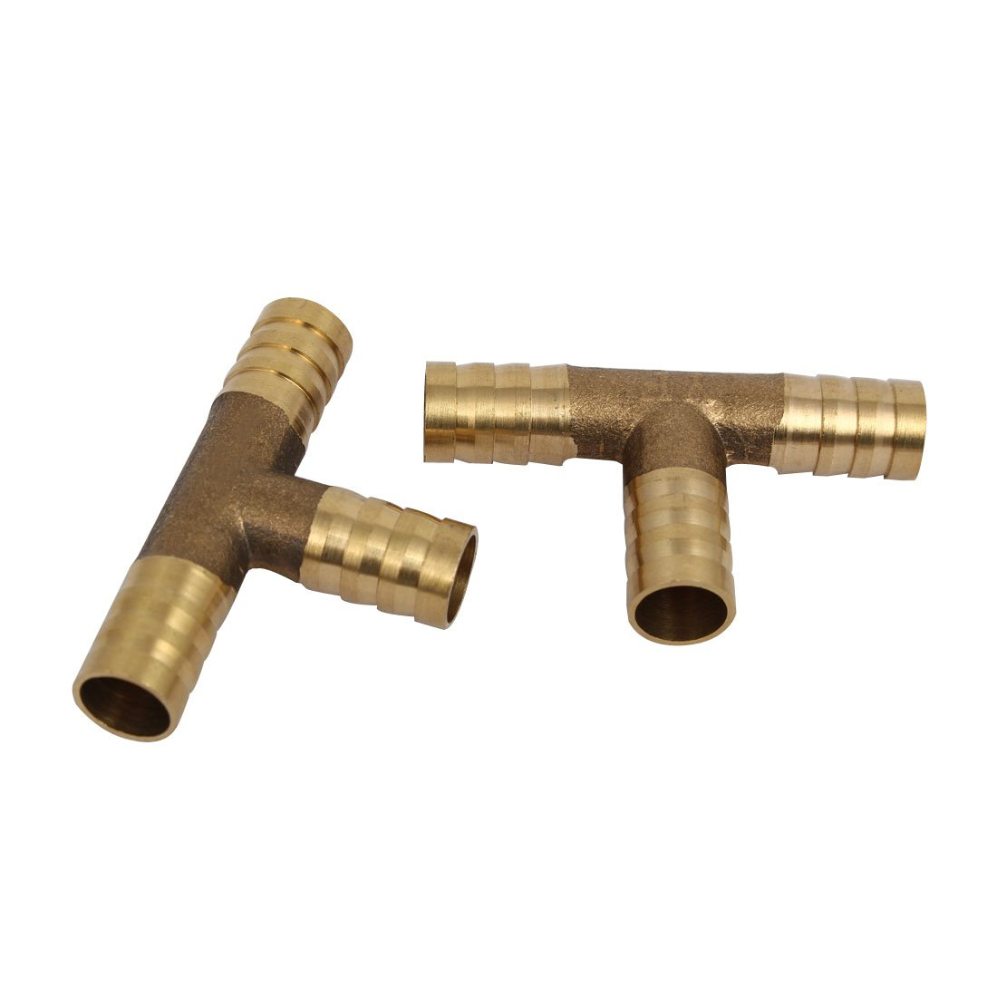10mm to 6mm Barb Brass Hose Fitting 90 Degree Elbow Pipe Coupler Tubing Adapter