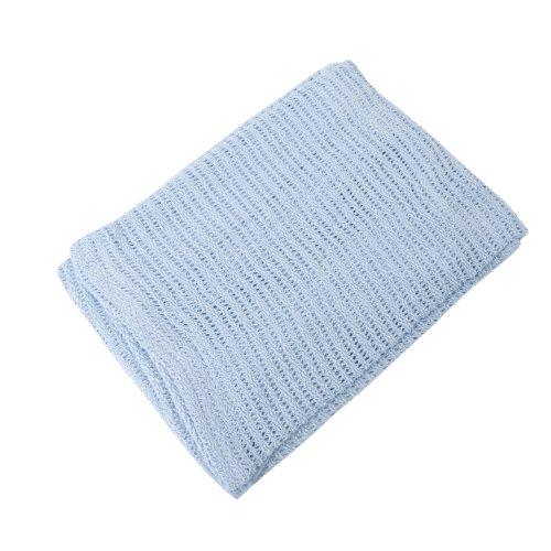 Baby Decke aus Baumwolle (100 x 150 cm) (Blau)