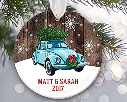 Enidgunter Volkswagon Bug Ornament Vw Car with Christmas Tree On Top  Vintage Car Ornament Vw Beetle - Amazon.com: Enidgunter Volkswagon Bug Ornament Vw Car With Christmas