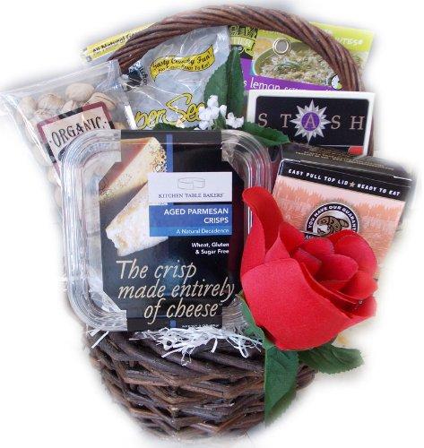 Diabetic Valentines Day Sampler Gift Basket