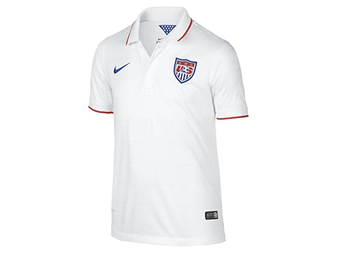 7d003e60035 Amazon.com  Nike Men s Soccer U.S. Home Jersey  Sports   Outdoors