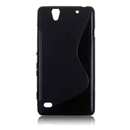 the best attitude ff888 81f9a Wellmart Rubber Back Cover For Sony Xperia C4