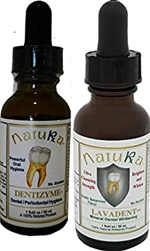 NaturaRX Dentizyme-Lavadent Combo