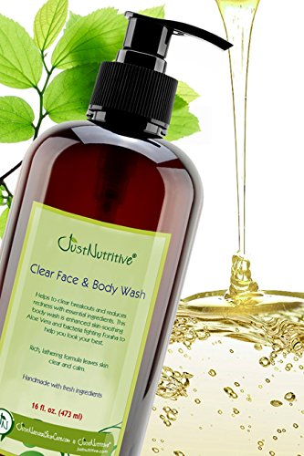 Acne Clear Face and Body Wash | Best Wash Made for Facial & Body Acne | Clear Clean Skin