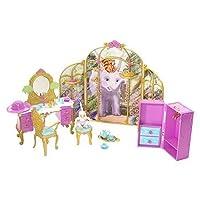 Barbie como la princesa de la isla preparándose con Tallulah Playset