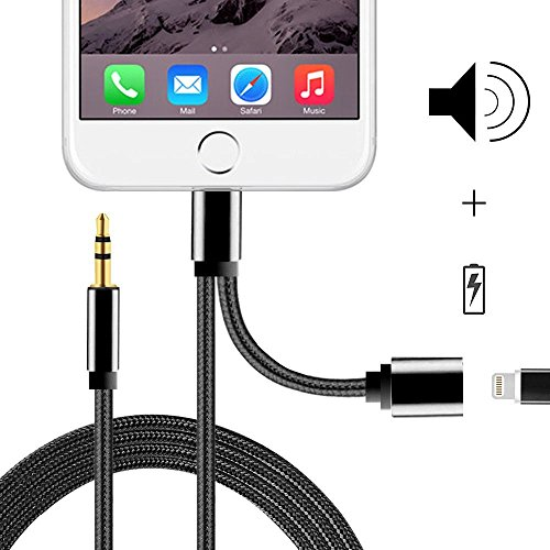 Lightning MerryNine Adapter Charger Braided