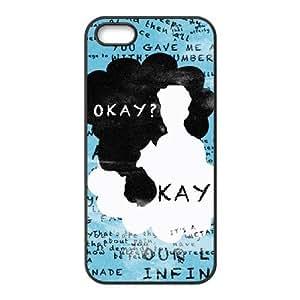 LZHCASE Diy Customized Hard Case Okay Okay for iPhone 5,5S [Pattern-2]