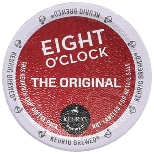 Eight O'Clock Coffee The Original K-Cup (144 Count) (Eight O Clock Coffee Pods)