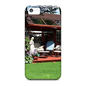 Iphone Cover Case - Summer House Protective Case Compatibel With Iphone 5c