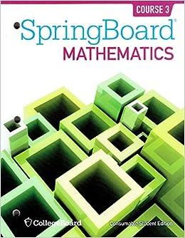 Bestseller: Springboard Geometry Unit 3 Practice Answer Key