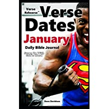 Verse Rehearse Verse Dates January Daily Bible Journal: Surge Up With God's Word