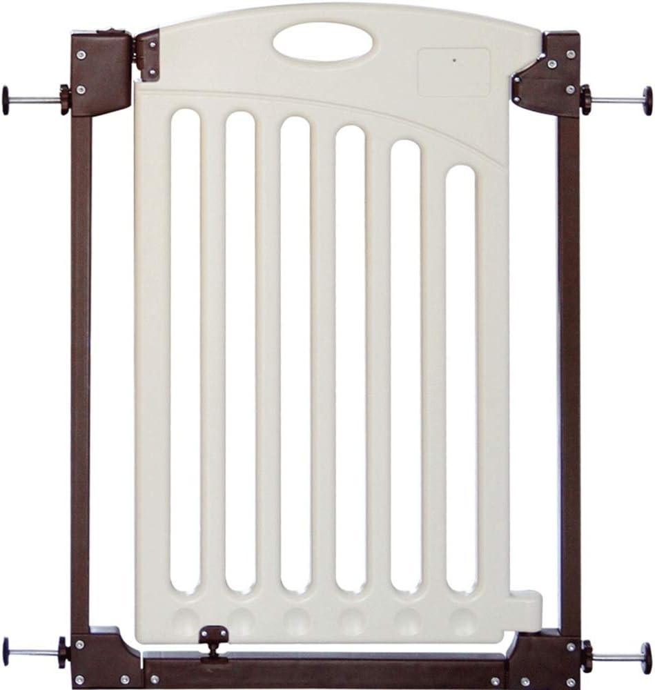 HUO ベッドフェンス 子供用安全扉、赤ちゃんの階段用安全扉、穴あきフェンスなし、開閉が簡単で、ドアや廊下/階段に最適 (Size : 85-93cm)