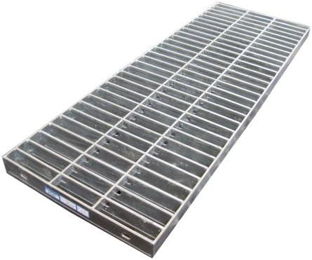 [スポンサー プロダクト]側溝用グレーチング(普及型) 受枠セット 適用みぞ幅200mm 長さ995mm 適用荷重:乗用車(T-2) HGB-300-19