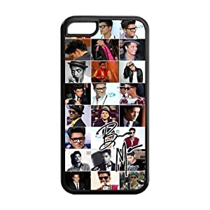 meilinF000Bruno Mars Famous Singer Case Fits iphone 5/5s Cover Snap-On Protector for Apple I PhonemeilinF000