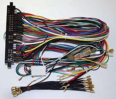 516wOwh2HJL._QL40_SX400_ amazon com jamma board standard cabinet wiring harness loom for bill evans wiring harness at fashall.co