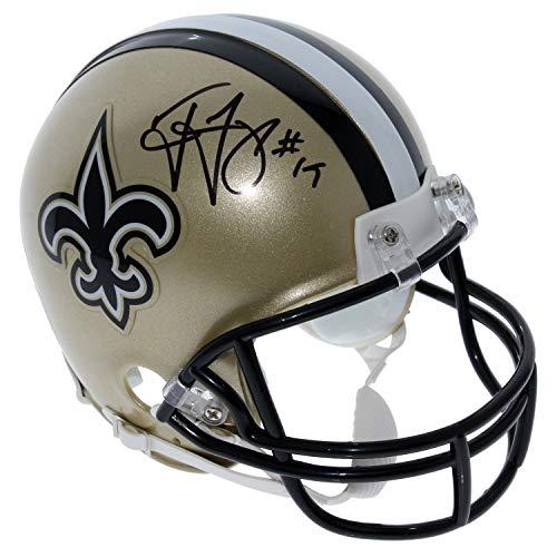 Ted Ginn Jr. New Orleans Saints Autographed Signed Riddell Mini Helmet - PSA/DNA Authentic