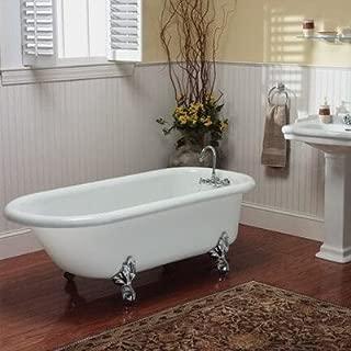"product image for Regent 60"" x 30"" Bathtub Color: Brass"
