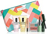 NEW Clinique Skin Care Makeup 7 Pc Gift Set Travel Size Nudes Spring 2015 Tyler Dawson Makeup Bag