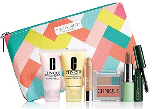 new-clinique-skin-care-makeup-7-pc-gift-set-travel-size-nudes-spring-2015-tyler-dawson-makeup-bag