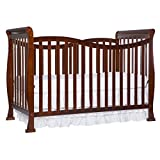Dream On Me Violet 7 in 1 Convertible Life Style Crib, Espresso