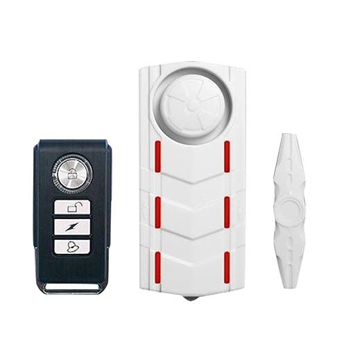 ... de Puerta Sensor Ventana,Alarma Antirrobo Alto 108 dB,magnetismo + vibración Dos en un, Control Remoto Detector de Movimiento: Amazon.es: Electrónica
