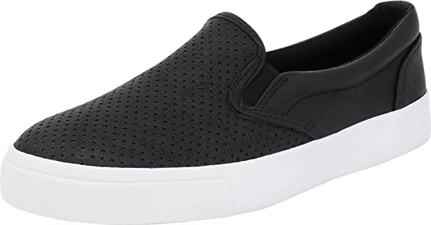 Soda Perforated Slip-On Sneakers