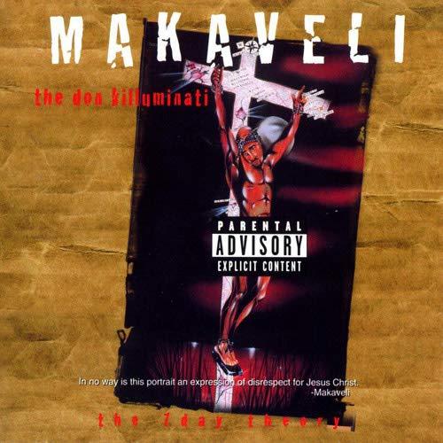 At Ur Service Makaveli, The Don Killuminati: The 7 Day Theory (1996) Rare Album Cover Poster 12 x 18 Inch