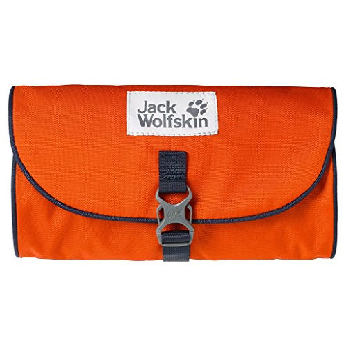 Jack Wolfskin beauty case Mini per il bagnetto salon, dark satsuma, 26 x 15 x 1,5 cm, 0,7 litro, 86150-3023