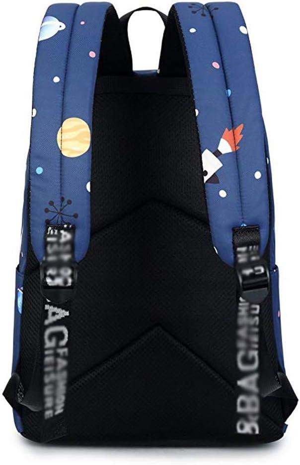Large Capacity Waterproof High School Student Backpack 42.5x30.5x13.5cm /&/& Student Bag Mysterious Star Print Backpack Leisure Travel Bag ZJ-School bag Backpack