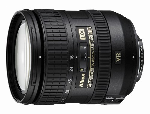 Nikon AF-S DX NIKKOR 16-85mm f/3.5-5.6G ED Vibration Reduction Zoom Lens with Auto Focus