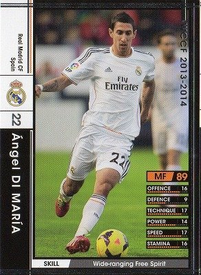 Amazon.com: wccf 13 – 14/248/Real Madrid CF/Angel Di Maria ...