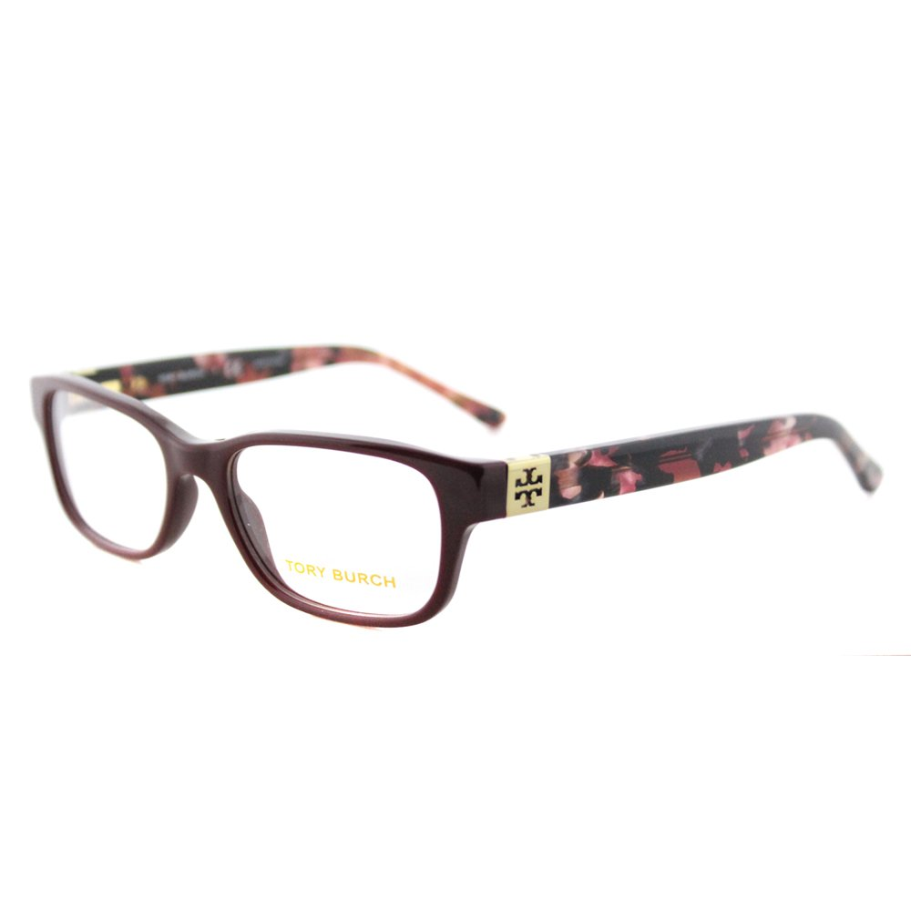Tory Burch TY2067 Eyeglass Frames 1610-50 - Port/Pearl Port Tortoise