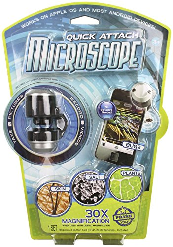 Prank Star Microscope (Appscope Quick Attach Microscope For Phones And Tablets)