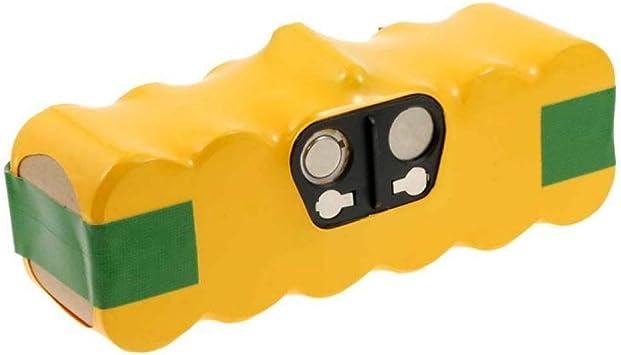Batería para robot aspirador iRobot Roomba 670 Serie 4500 mAh, 14 ...