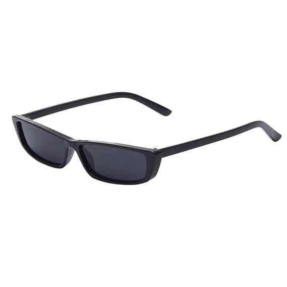 Mujer Moda Marco grande Gafas de sol cuadradas Gafas de sol Marca Sunglass clásica/Clásico
