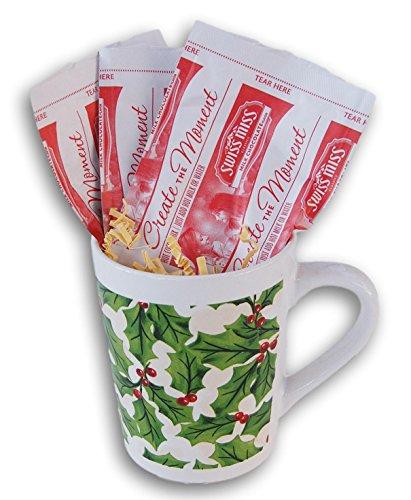 Christmas Holiday Swiss Miss Hot Cocoa Mix Gift Mug - Mistletoe