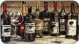 Oversized Comfort Series 20'x36' Antifatigue Kitchen Mats (PK12-Assorted Wines)