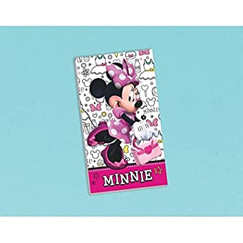 Disney Minnie Mouse Notepad Birthday Party Favour Prize Giveaway 1 Piece Lime Green