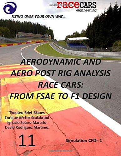 Aerodynamic and Aero Post Rig Analysis Race Cars: From FSAE to F1 Design - 11: Everything necessary to design any Race Car, mainly focusing on Aerodynamics, Suspension and Grip (Volume 12)