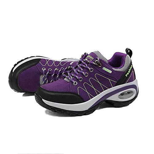 Tourism Hiking Air Casual Shoes snfgoij Sports Running Lightweight Ladies Purple Outdoor Shoes Girls Shoes Mattress Shoes Walking 54wqxgA8pq
