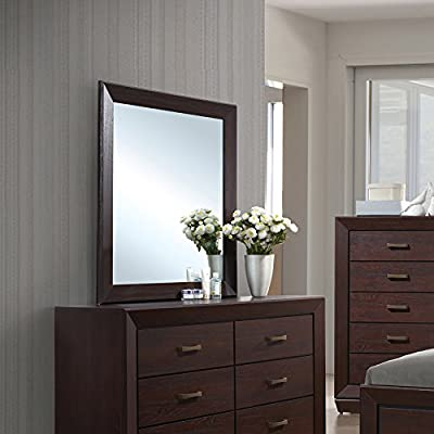 Coaster Home Furnishings 204394 Dresser Mirror, Dark Cocoa