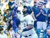 Autographed Orlando Arcia 8x10 Milwaukee Brewers Photo with COA