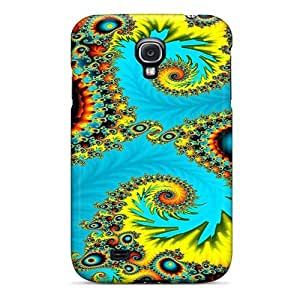 New Premium HknAeuY7137rDlOv Case Cover For Galaxy S4/ Psychedelic Bold Colors Protective Case Cover