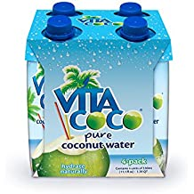 Vita Coco Coconut Water, Pure, 11.1 Ounce (Pack of 4)