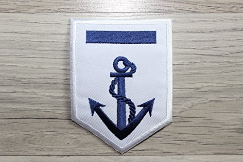 Anchor Navy Fabric Sticker Iron on Transfers, Anchor Iron on patch